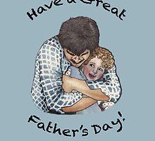 Happy Father's Day Card by Elizabeth Aubuchon