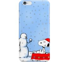 snoopy snowy  iPhone Case/Skin