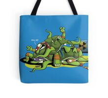 Hideously Mutated Ninja Turtles Tote Bag