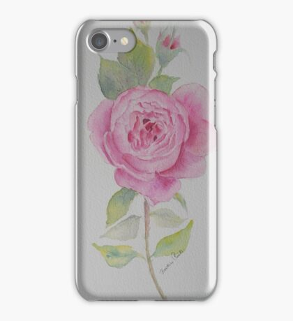 Rose toujours iPhone Case/Skin