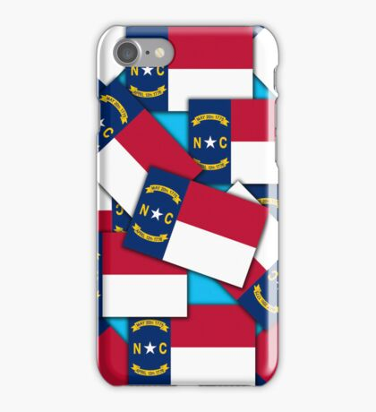 Smartphone Case - State Flag of North Carolina - Multiple V iPhone Case/Skin
