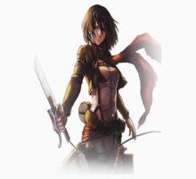 Attack on Titan: Mikasa by ZetsumeiArashi