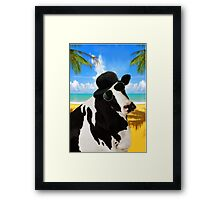 Cool Cow  Framed Print