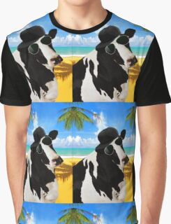 Cool Cow  Graphic T-Shirt