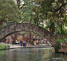San Antonio Riverwalk Bridge by DonTX1