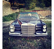 Old Mercedes  Photographic Print