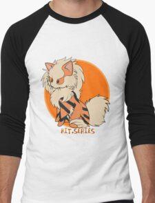 Arcanine Kit.Series Men's Baseball ¾ T-Shirt
