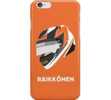 Kimi Räikkönen Helmet Design 2013 Season iPhone Case/Skin