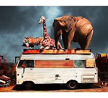 Barnum and Bailey Goes On a Road Trip 5D22705 Photographic Print