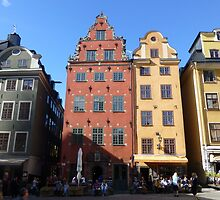 Gamla Stan Stockholm by SoulSparrow