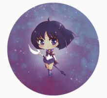 "3.0"" Super Sailor Saturn Chibi Sticker by AndreaJacqLee"