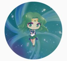 "3.0"" Super Sailor Neptune Chibi Sticker by AndreaJacqLee"