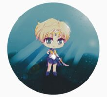 "3.0"" Super Sailor Uranus Chibi Sticker by AndreaJacqLee"