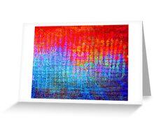 digital Color Greeting Card