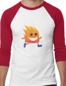 Inflammy Men's Baseball ¾ T-Shirt