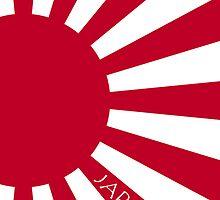Smartphone Case - Flag of Japan (Ensign) VIII by Mark Podger