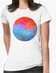 digital Color Womens Fitted T-Shirt