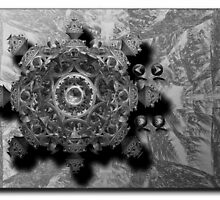 ©DA Fractal Of Sound IA Monochrome by OmarHernandez