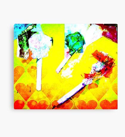 digital candy Canvas Print