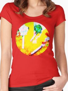 digital candy Women's Fitted Scoop T-Shirt