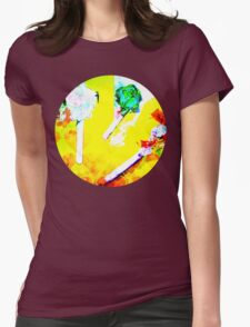 digital candy Womens Fitted T-Shirt