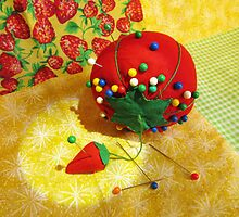 Tomato Pincushion by SRowe Art
