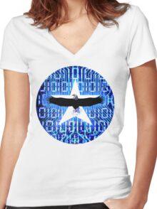 Program modification Women's Fitted V-Neck T-Shirt