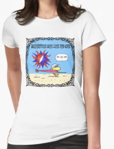 my oh my! Womens Fitted T-Shirt