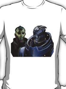 Mass Effect - Thane and Garrus T-Shirt