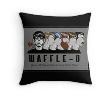 Waffle-o Throw Pillow