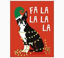 Cute Dog Christmas Gift santa pug boston terrier Classic T-Shirt