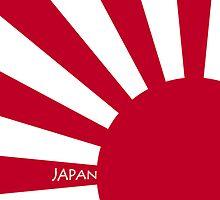 Smartphone Case - Flag of Japan (Ensign) XIV by Mark Podger