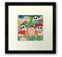 shinchan Framed Print