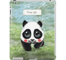Panda Style iPad Case/Skin