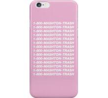 MASHTON TRASH iPhone Case/Skin