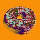 Donut Pop art print by minjean