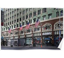 Palomar Hotel and Old Navy in Downtown San Francisco - 5D19799 Poster