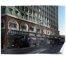 Palomar Hotel and Old Navy in Downtown San Francisco - 5D19800 Poster