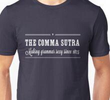 Comma Sutra. Making grammar sexy since 1875 Unisex T-Shirt