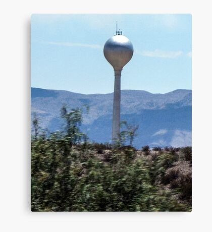View From The Road... Canvas Print