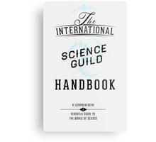 Science Guild Type Poster Metal Print