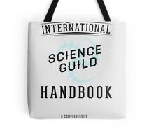 Science Guild Type Poster Tote Bag