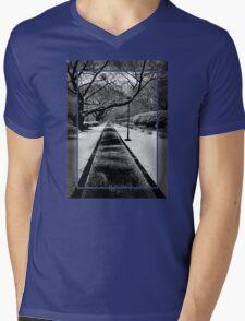 Snowblind (Colorless Section) Mens V-Neck T-Shirt