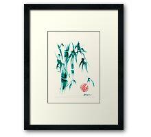 Viridescent Framed Print