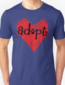 Adopt a Dog - Animal Rescue - Rescue Shelter Animals - Ashland Animal Rescue Fund T-Shirt