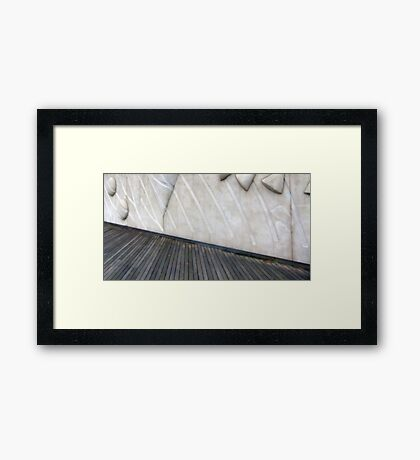 I Want to Postpone Our Meeting... Framed Print
