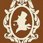 Christmas Card - snowman - bronze by MrsTreefrog