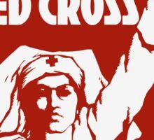 Help The Red Cross Sticker