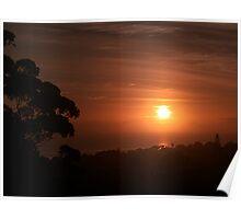 De sun come up in de morning........................! Poster