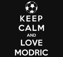 Keep Calm And Love Modric by Phaedrart